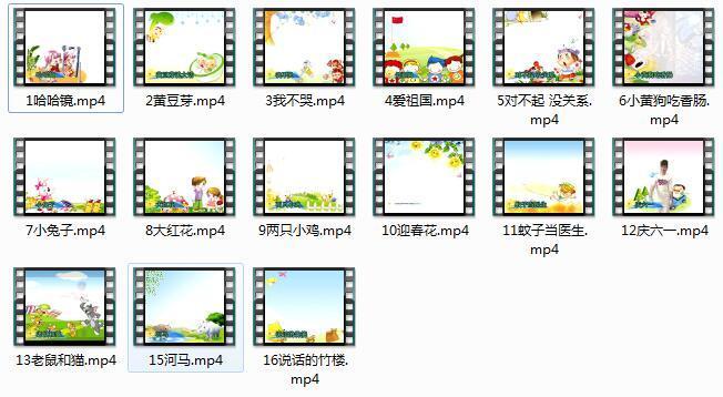 儿童口才与表演视频教学一级训练