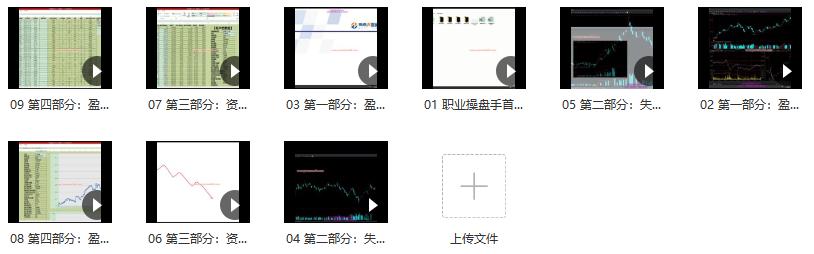 海桑 陈金辉2020年《职业操盘手 全年交易揭秘》期货课程