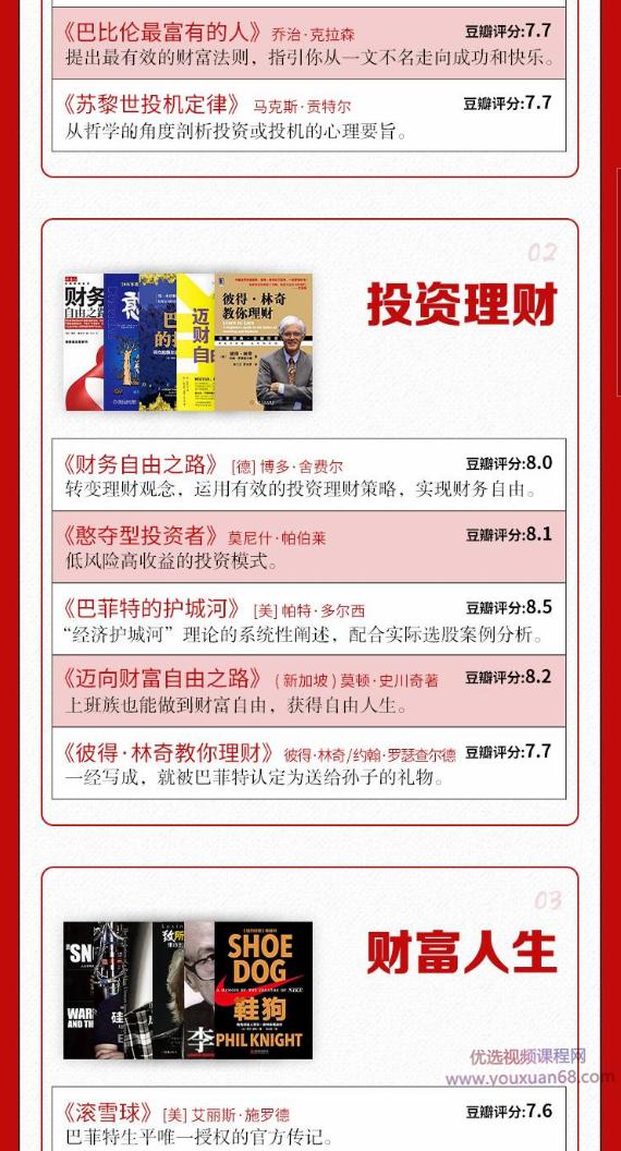 刘媛媛《走向富足的30本财商提升书单》 [课件] [音频]